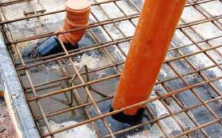 Прокладка канализации под фундаментной плитой: подготовка, инструменты, способы и этапы работ