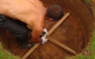 Копание колодцев под воду: инструменты, материалы и порядок проведения работ