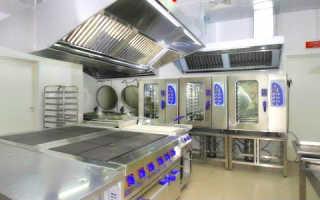 Расчет вентиляции кухни ресторанов и кафе