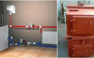 Отопление частного дома на твердом топливе: котлы и печи своими руками