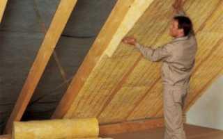 Утеплитель для крыши: технология теплоизоляции и необходимые материалы для работы