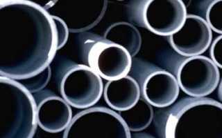 Пластиковые трубы для водопровода: виды, технические характеристики, размеры и цены