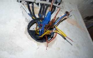 Схема подключения двухклавишного выключателя: в распаечной коробке, с 3 проводами