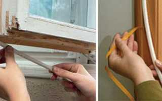 Утепление деревянных окон и их откосов своими руками