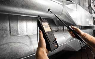 Экспертиза и исследование систем вентиляции