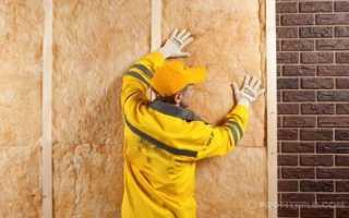 Утепление кирпичной стены изнутри: пенополистиролом, современными методами