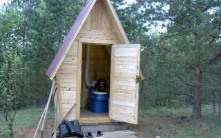 Установка дачного туалета с выгребной ямой: подготовка, инструменты, выбор материалов