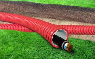 Подвод электричества к дому под землей: для частного дома и дачи, виды кабеля