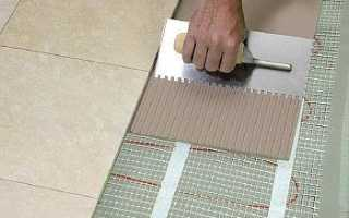 Плиточный клей для теплых полов: виды, состав, важные параметры выбора