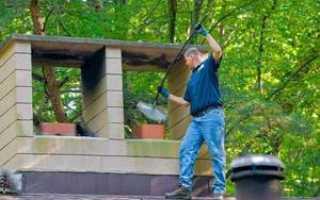 Как почистить дымоходы в печи народными средствами: чем можно прочистить трубу