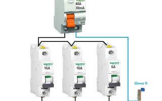 УЗО до автомата или после: порядок установки, нормы и правила по ПУЭ