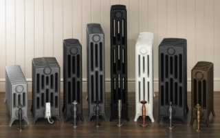 Чугунные радиаторы отопления: характеристики, особенности, основные параметры