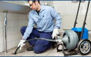 Очистка канализационных труб смешанным методом: описание, достоинства и недостатки