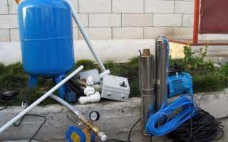 Подача воды из колодца в дом: особенности, схема и этапы монтажа