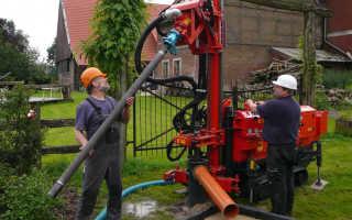 Бурение скважин на воду малогабаритной установкой: виды, устройство и принцип работы