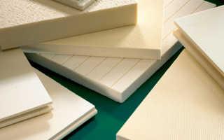 Экструдированный пенополистирол: плотность и размеры материала, способы монтажа