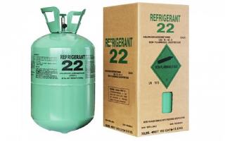 Что такое фреон R22: формула, таблица характеристик и область применения