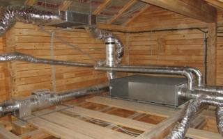 Вытяжная вентиляция в частном деревянном доме своими руками, схемы