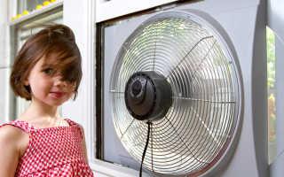Оконные вентиляторы: реверсивные, приточные, вытяжные