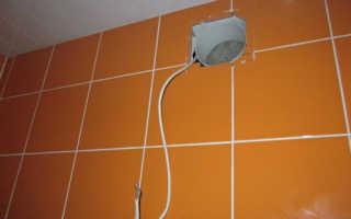 Принудительная вентиляция в туалете и в ванной комнате