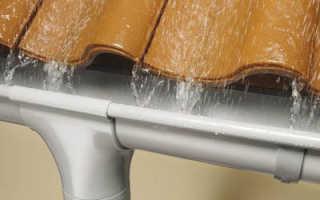 Металлические водосточные системы: технические характеристики, монтаж, эксплуатация и цена