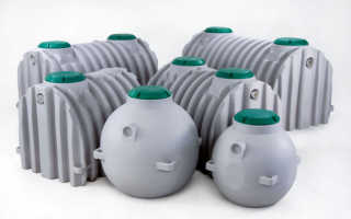 Емкость для канализации: назначение, материал изготовления, размеры и цена