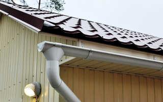 Монтаж водосточной системы: проектирование, расчеты, этапы установки и цена за работу