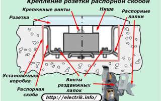 Коробка для установки розеток и выключателей скрытой проводки: особенности конструкции