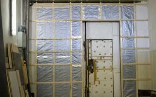 Утепление гаражных ворот: выбор материалов и подготовка поверхности