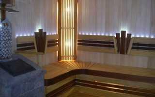 Светильники для бани: влагозащищенные, можно ли использовать светодиодные