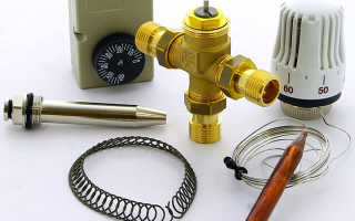 Термостатический клапан для теплого пола: описание, применение, виды