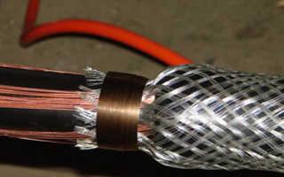 Заземление брони кабеля с двух сторон по ПУЭ: внутри помещений, назначение заземления