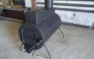 Печь для гаража: особенности и способы отопления, этапы изготовления