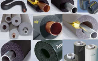 Утеплитель для труб: обзор теплоизоляционных материалов и выбор лучшего