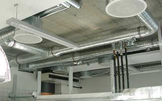 Системы вентиляции воздуха производственных и жилых помещений